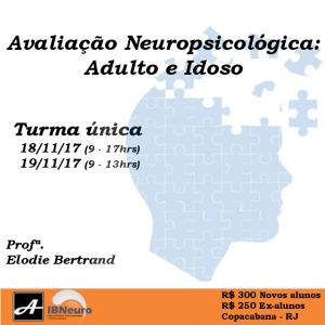 Instagram - 2017 - WORKSHOP IBNEURO ANOVA AVULSO - Adulto e idoso
