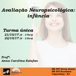 Instagram - 2017 - WORKSHOP IBNEURO ANOVA AVULSO - infancia